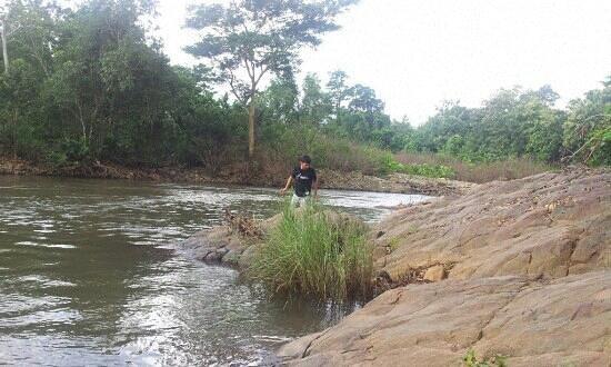 Baripada, India: river near lulung entrance. Sublime!!