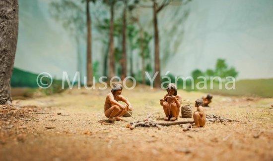 Museo Yámana: Fuego