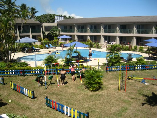 Tanoa Waterfront Hotel : View from room 204