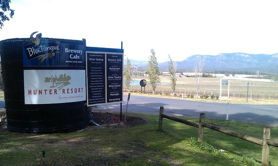 Hunter Valley Resort : Signboard