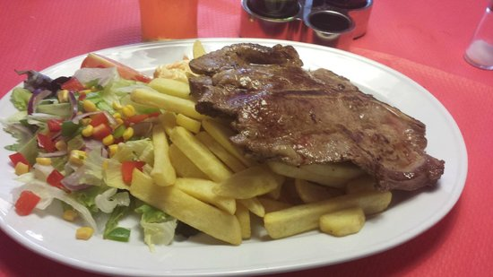 Uncle Sam's : T bone Steak
