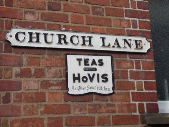 Soup Kitchen: Church Lane Entrance