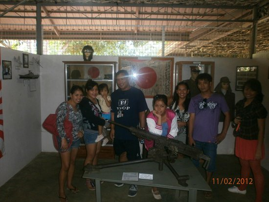 Palawan Special Battalion WW2 Memorial Museum: The family visited the museum!