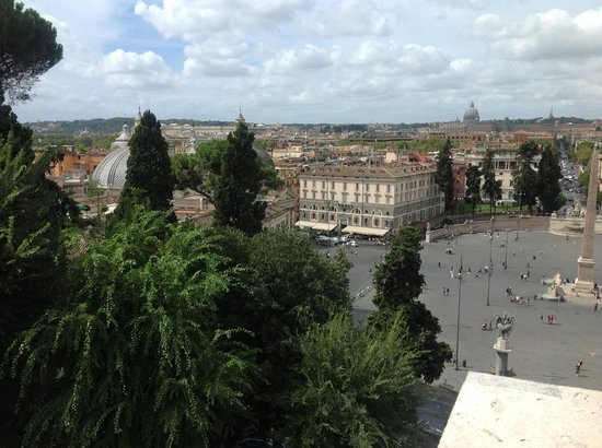 Hotel Pineta Palace : Views from the 6th floor