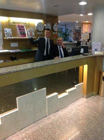 Hotel Pineta Palace : Front Desk friendly staff