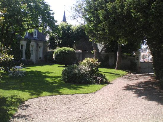 La Métairie: l'entrée principale