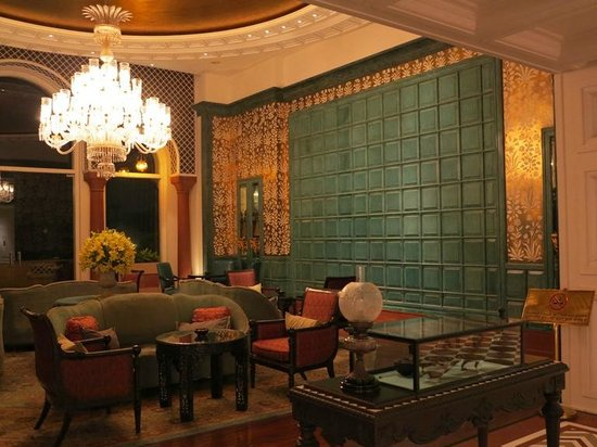 The Oberoi Amarvilas: Lounge area