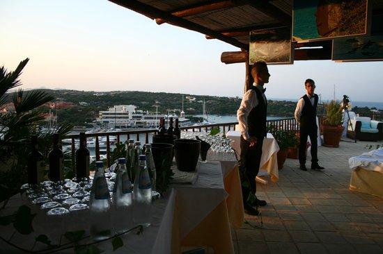 Hotel Luci di La Muntagna : terrazza del bar
