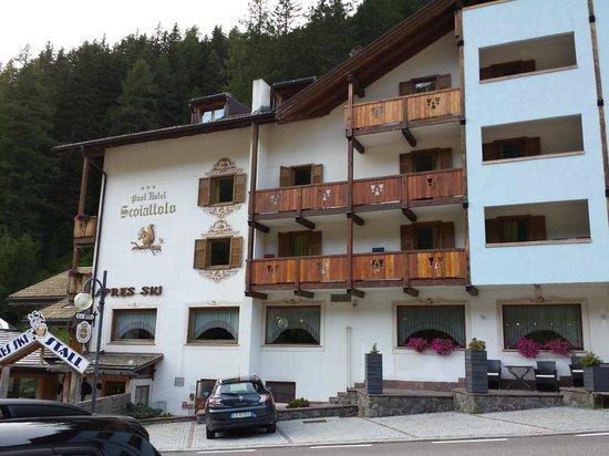 Hotel Scoiattolo : la facciata