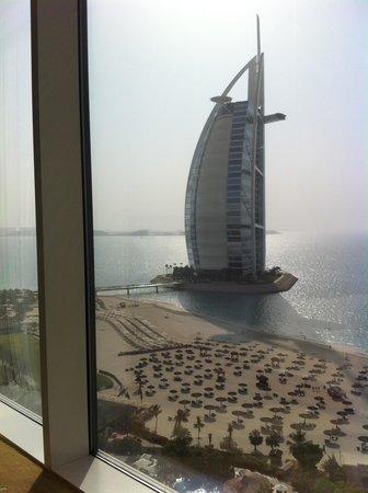 Jumeirah Beach Hotel: room view