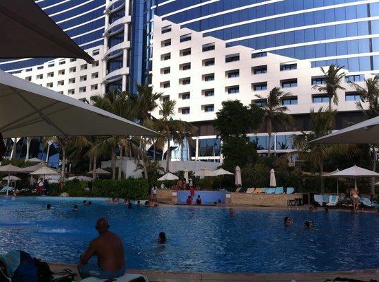 Swimming Pool Area Picture Of Jumeirah Beach Hotel Dubai Tripadvisor