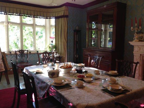 Lullington House: breakfast