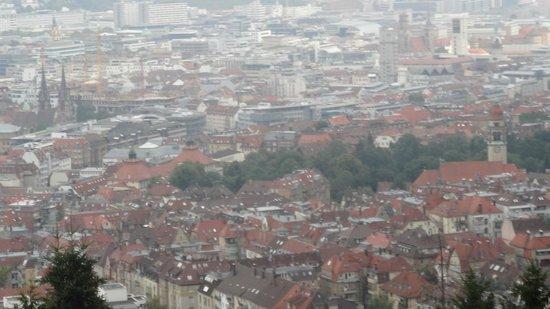Zahnradbahn: View of City from Rack Railway
