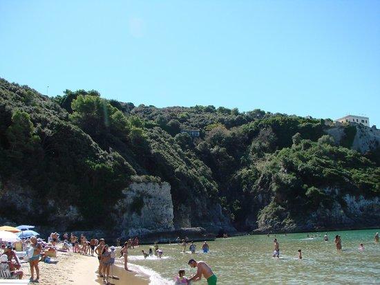 Hotel Serapo: Spiaggia