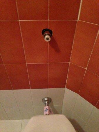 Albergo Santa Barbara: Questo è ciò che rimane dello scarico del WC
