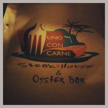 Uno Con Carne : menu