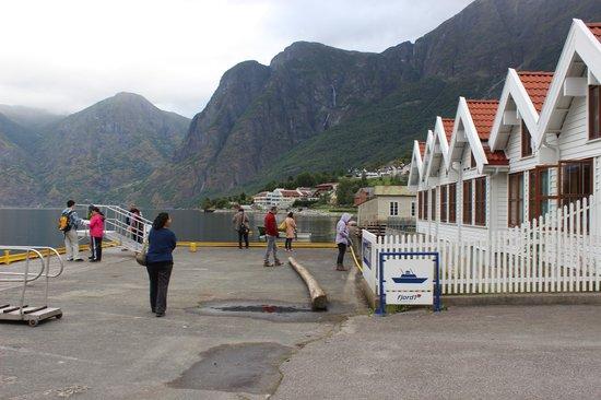 Vangsgaarden: view of the cottages
