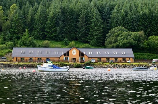 Torran Bay Hostel: great place to stay and fish