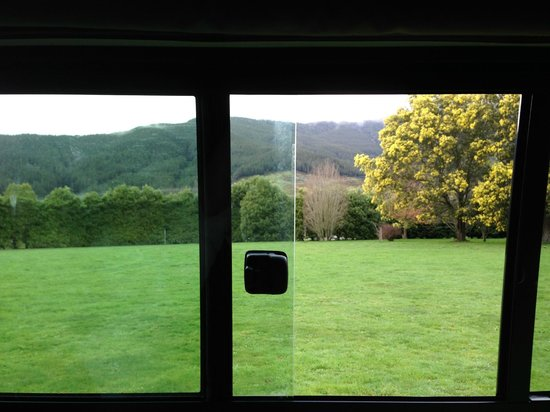 Smiths Farm Holiday Park : View from our camper van