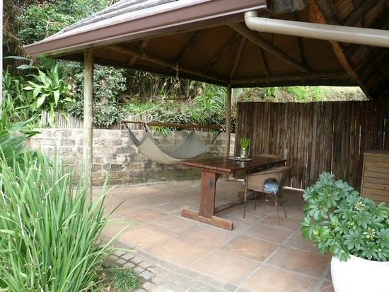 Palapa Place: The Guest Suite -  Private Patio Braai/ BBQ Area