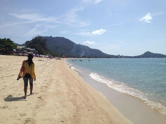 Chaweng Beach Koh Samui Thailand Long Beach Day Time Very