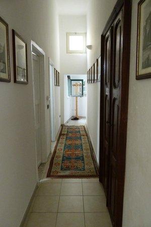 B&B Palazzo Bernardini : il corridoio