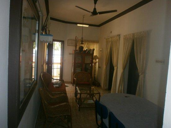 Lazar Residency Homestay: Salon intérieur commun