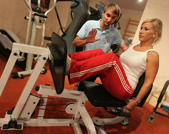 Aktiv & Wellnesshotel Reissenlehen: Krankengymnastik