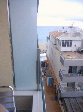 Hotel Playa: vista mare