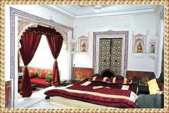 Shree Jagdish Mahal Heritage Hotel (Nagarseti Ri Haveli): suit room