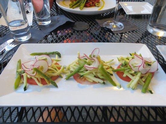 Tapas on Main: Summer vegetable salad