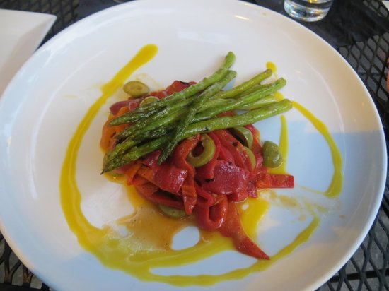 Tapas on Main: Warm Mediterrean salad