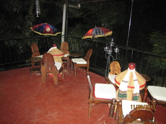 Addis in Dar : Out on the balcony