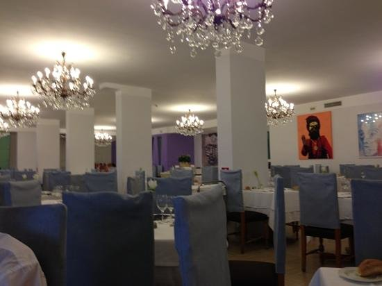 Art Hotel Gran Paradiso: lovely restaurant