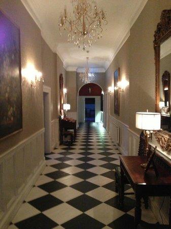 Bellingham Castle: Hallway