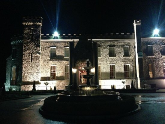 Bellingham Castle: Bellingham at night