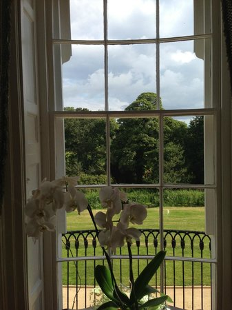 Bellingham Castle: View from lounge