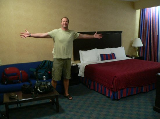Ramada Jersey City: The room was this big!