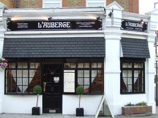 Photo of French Restaurant L'Auberge Restaurant at 22 Upper Richmond Road, London SW15 2RX, United Kingdom