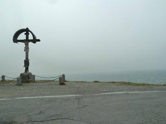 Passo di Gavia: In cima al Gavia