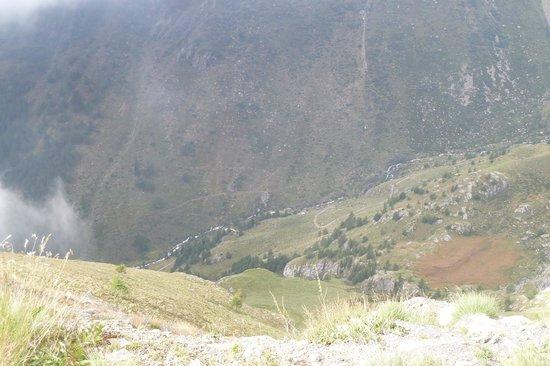 Passo di Gavia: Verso Ponte di legno... gli strapiombi