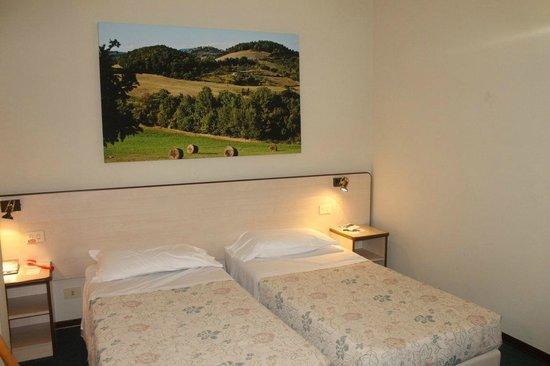 Hotel Alcide: letti