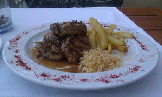 Iokasti Caffe: Pork with honey and sage