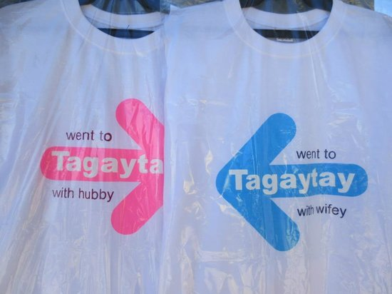 Picnic Grove: tagaytay tshirt for souvenir..