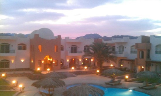 Sheikh Ali Dahab Resort: Beautiful sky