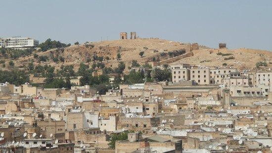 Vista della medina dalla terrazza del Dar Sienna