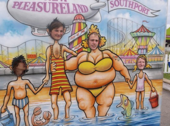 Southport Pleasureland: The old ones are the best!