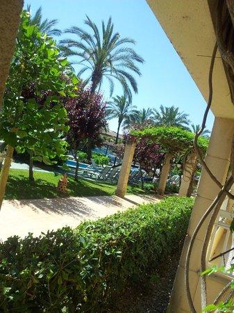Prinsotel La Dorada: Jardines