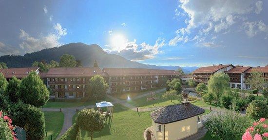 Hotel Bachmair Weissach : Hotelpark