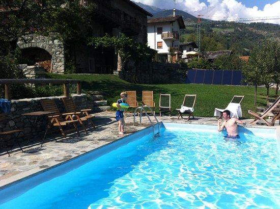 La Fattoria di Roven: The pool and garden